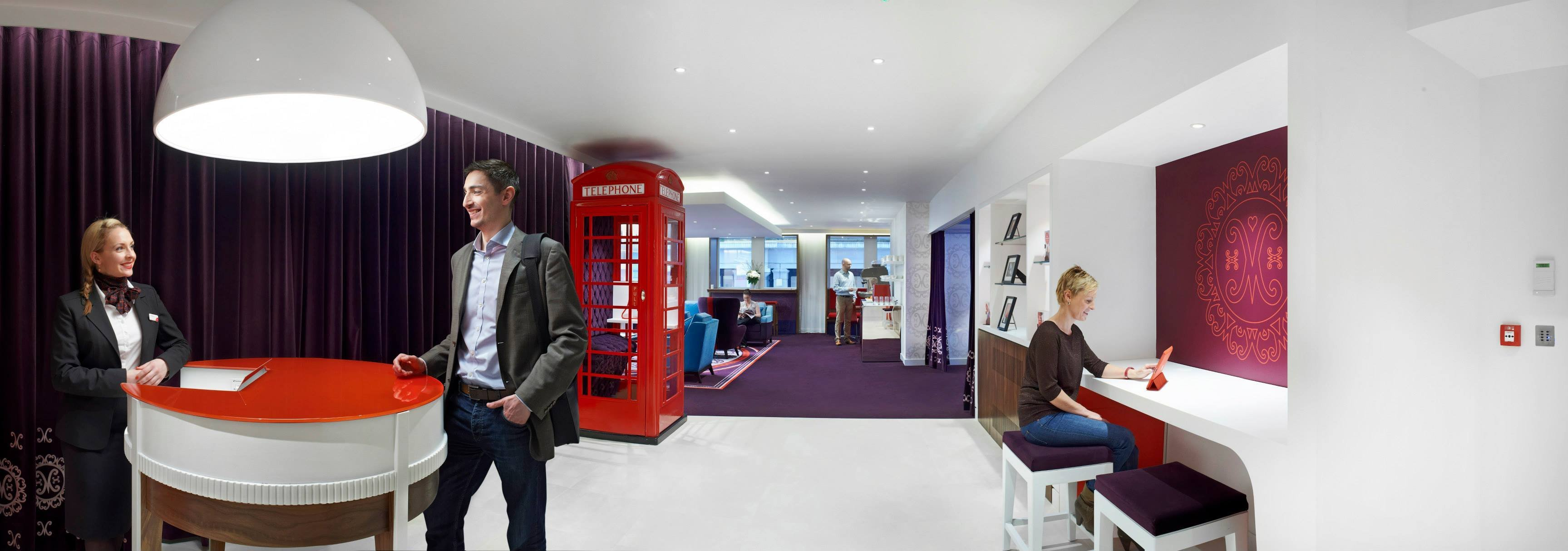 Virgin Money's new London lounge